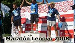 Maratón Lenovo 2008 5 km y 10 km