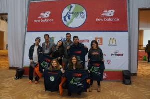 Neoneanos en la Media Maratón Punta del Este 2013