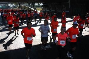 Invasión de Neoneanos en la Media Maratón Ciudad de Buenos Aires 21k Arnet 2013